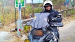 బిఎమ్డబ్ల్యూ ఆర్1200 జిఎస్ బైక్పై కనిపించిన హీరో అజిత్