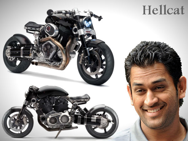 ms dhoni buys himself x132 hellcat