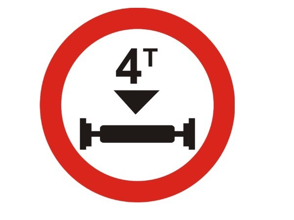Axle Load Limits : Mandatory road signs and their meanings telugu drivespark