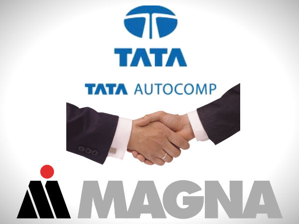 Tata AutoComp And Magna Enter Into A Joint Venture
