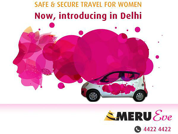 Meru Launches Eve Cabs For Women By Women