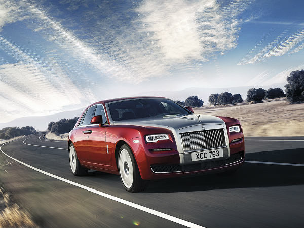 Rolls Royce Ghost Series 2 Front