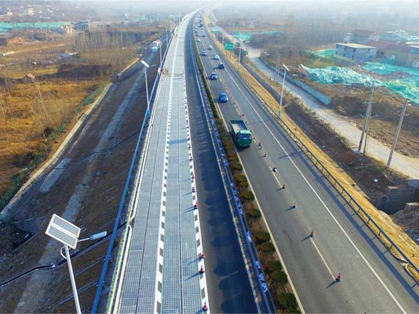 తొలి సోలార్ పవర్ జాతీయ రహదారిని ప్రారంభించిన చైనా