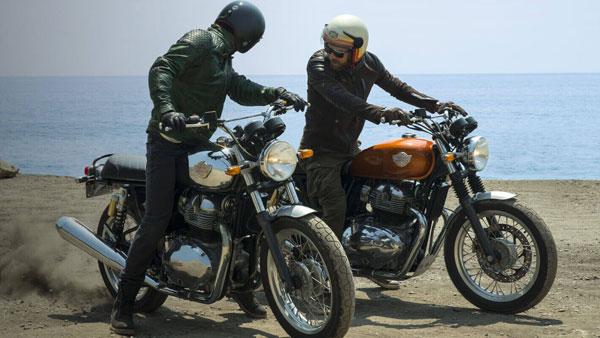 న.14 నందు రాయల్ ఎన్ఫీల్డ్ 650-ట్విన్స్ మోటార్సైకిళ్ల విడుదల