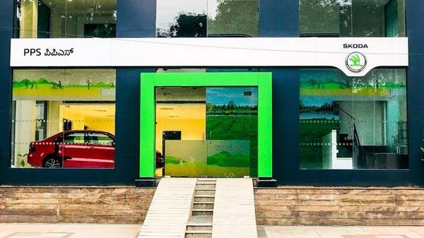 బెంగుళూరులో స్కొడా కొత్త షోరూమ్ లాంచ్; భారత్లో రీబ్రాండింగ్ పూర్తి