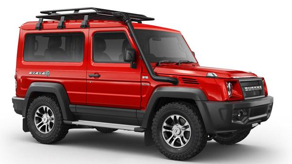 2021 Gurkha యాక్సెసరీస్ వెల్లడించిన Force Motors; పూర్తి వివరాలు
