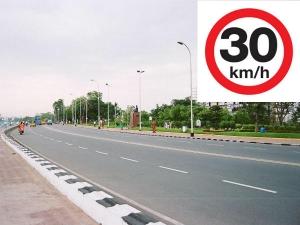 అప్పర్ ట్యాంక్ బండ్పై స్పీడ్ లిమిట్ 30 kmph మాత్రమే