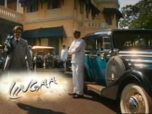 తాత వింటేజ్.. మనవడు మోడ్రన్..: లింగా చిత్రంలో కార్లు