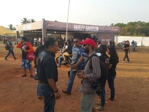 ఐబిడబ్ల్యూ 2015: గోవాలో 2000 మందికి పైగా హ్యార్లీ ఓనర్స్ గర్జన