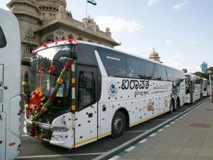 భారత దేశపు తొలి బయో డీజల్ బస్సులను ప్రారంభించిన KSRTC