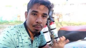 హోండా యాక్టివా ఇంత సూపర్ స్పీడ్ గా పోతుందా ? :[వీడియో]
