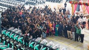 తమిళనాడులో ఎలక్ట్రిక్ స్కూటర్ల ఉత్పత్తిని ప్రారంభించిన ఏథర్ ఎనర్జీ
